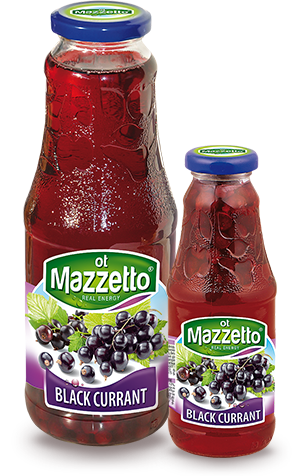 Drink with fruit: Black currant
