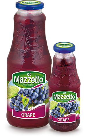 Drink with fruit: Grape