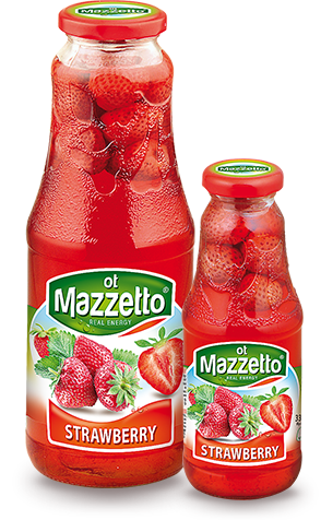 Drink with fruit: Strawberry